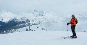 Skiën op wintersport